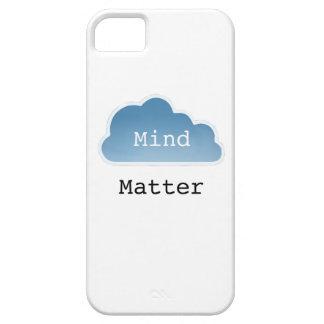 Mente sobre materia iPhone 5 coberturas
