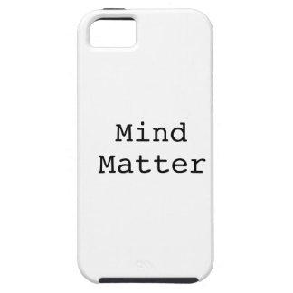 Mente sobre materia iPhone 5 Case-Mate cobertura