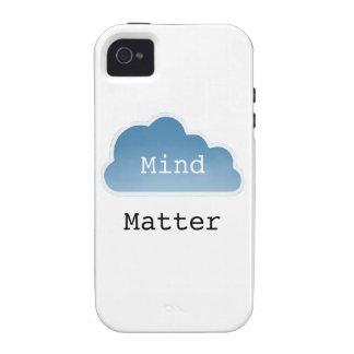 Mente sobre materia iPhone 4/4S carcasa