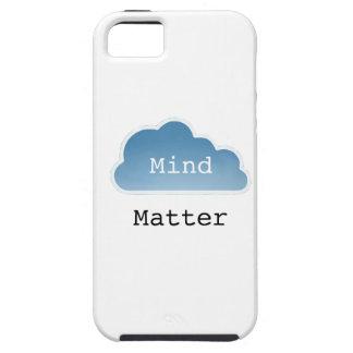 Mente sobre materia iPhone 5 fundas