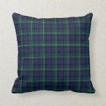 Menteith Scotland District Tartan Pillows
