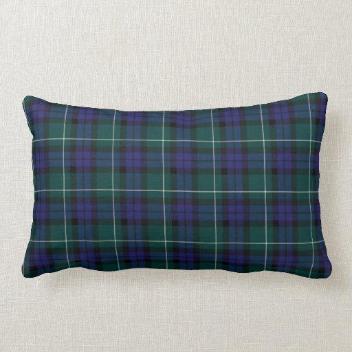 Menteith Scotland District Tartan Throw Pillow