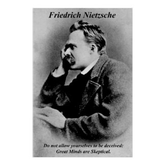 Mentes de Friedrich Nietzsche de los posters de la