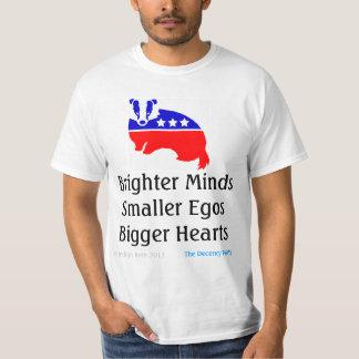 MENTES MÁS BRILLANTES - camiseta oficial del Camisas
