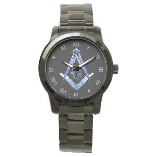 Mentes masónicas (azules) reloj
