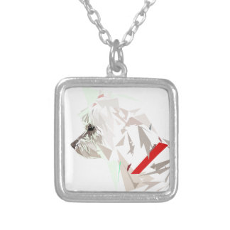 Menthéos Silver Plated Necklace