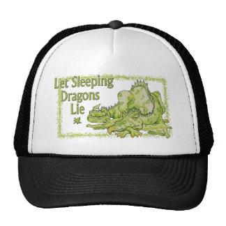 Mentira dejada de los dragones el dormir gorro de camionero