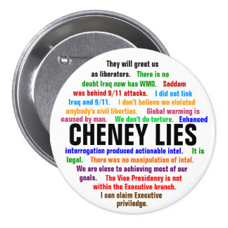 Mentiras de Cheney Pins