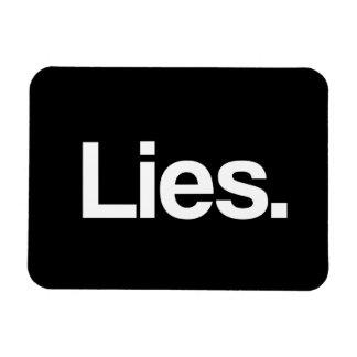 Mentiras Iman De Vinilo