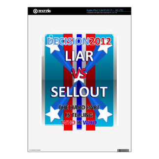 Mentiroso contra lleno iPad 3 skins