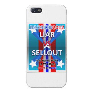 Mentiroso contra lleno iPhone 5 coberturas