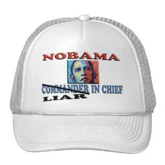 Mentiroso de NOBAMA en jefe Gorras