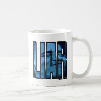 Mentiroso de Obama el || Taza De Café