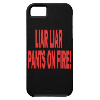 Mentiroso del mentiroso iPhone 5 funda