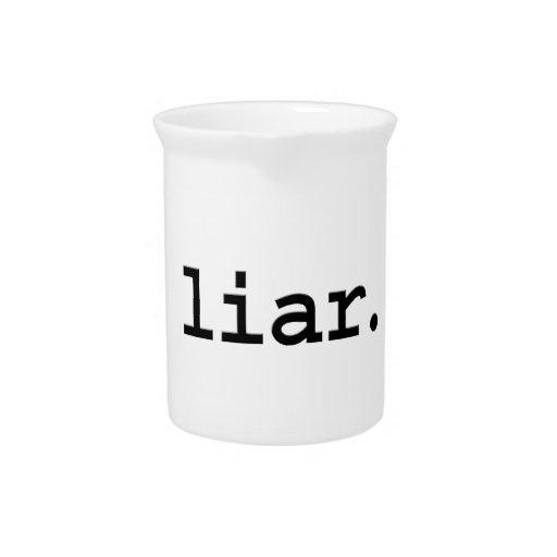 mentiroso jarra
