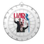 Mentiroso - Romney y Ryan Tablero De Dardos