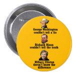 Mentirosos, ladrones y políticos pin