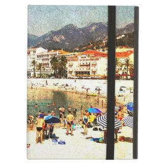 Menton, Cote d'Azur city beach iPad Air Cover