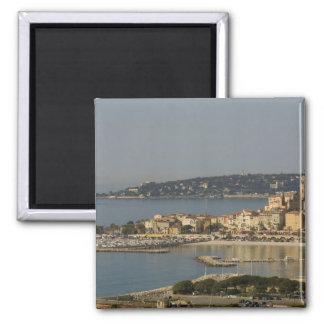 Menton, Cote d'Azur, France. 2 Inch Square Magnet