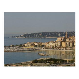 Menton, Cote d'Azur, France. Postcard