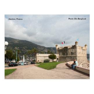 Menton, France, Photo Ola Berglund Postcard