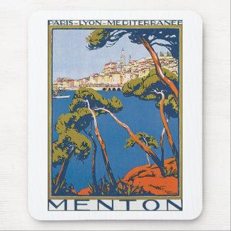 Menton Mouse Pad