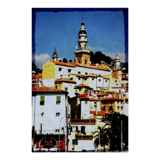 Menton, Provence Posters