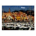 Menton, Provence Tarjeta Postal