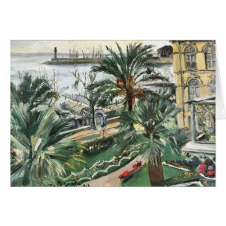 Mentone by Lovis Corinth Greeting Cards