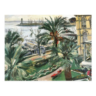Mentone by Lovis Corinth Postcard