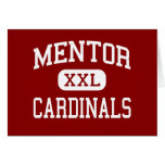 Mentor - Cardinals - High School - Mentor Ohio Greeting Card