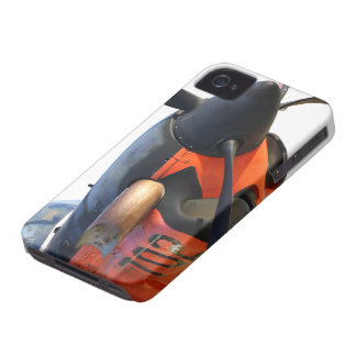 Mentor de T-34C Turbo iPhone 4 Protectores
