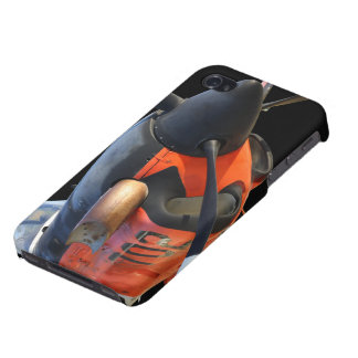 Mentor de T-34C Turbo iPhone 4 Fundas