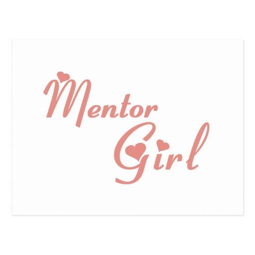 Mentor Girl tee shirts Postcard