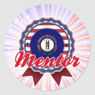 Mentor, KY Classic Round Sticker