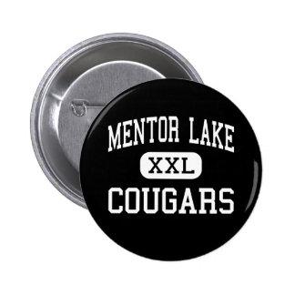Mentor Lake - Cougars - Catholic - Mentor Ohio Button