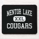 Mentor Lake - Cougars - Catholic - Mentor Ohio Mouse Pad