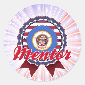 Mentor, MN Classic Round Sticker