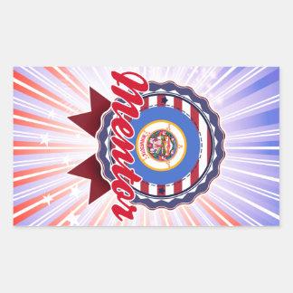 Mentor, MN Rectangular Sticker