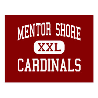 Mentor Shore - Cardinals - Junior - Mentor Ohio Postcard