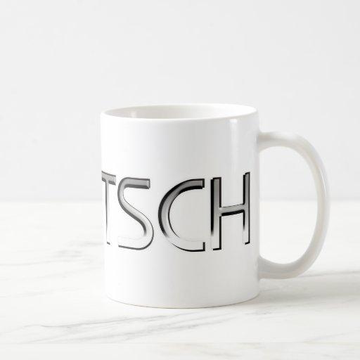Mentsch Tazas De Café