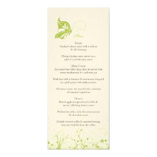 Menu ~ Butterfly Garden 10 Card
