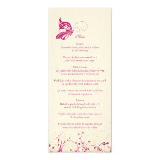 Menu ~ Butterfly Garden 1 Card