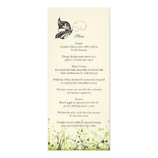 Menu ~ Butterfly Garden 2 Card