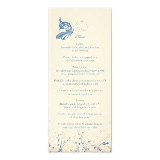 Menu ~ Butterfly Garden 4 Card
