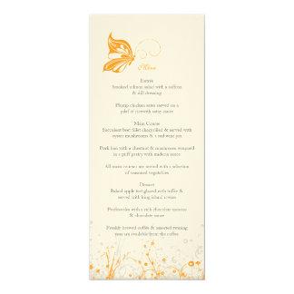 Menu ~ Butterfly Garden 8 Card