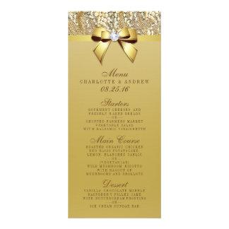 Menú de la colección del boda del arco de la lona personalizada