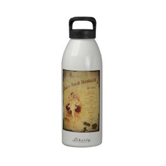 Menu de la Journee (menú) Botella De Agua