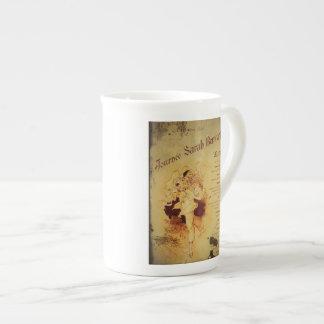 Menu de la Journee (menú) Tazas De Porcelana