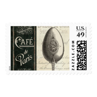 Menú francés sellos postales